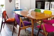 Interiors / Preferred design aesthetic: Plenty of white. Pops of color. Mix of modern & traditional.  / by Lola   Frolic & Jest