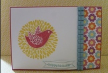 Stampin' Up! Cards / by Annette Davis - Independent Stampin' Up! Demonstrator