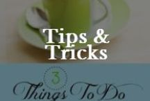 Info: Tips & Tricks /  Tips, tricks and clever ideas / by Valerie Elkins      /      Family Cherished