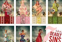 seven deadly sins / by Lisa Salvo