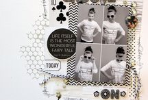 SCRAP: Inspiration Pages. / by Eva Galinetti