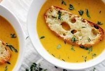Soups + Stews / Our favorite hearty, healthy soup and stew recipes, with tons of vegetarian options!  / by Hello Natural