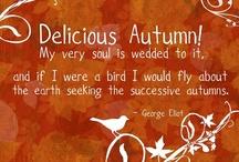 I L-O-V-E Autumn / by Connie Chamberlin