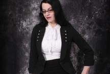 Corporate Goth / Thank goodness the school colors I'm encouraged to dress in are red and black. / by Michelle Pribbernow