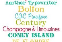 Font Fondness / Beautiful fonts! / by Laura Lyon