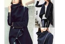 *B l a c k & W h i t e F/W / fall and winter outfits in black, white and gray  / by **S a b i n e l **