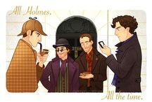 Sherlock Holmes / Sherlock will always be my favorite hero. / by Jillian McFarlan