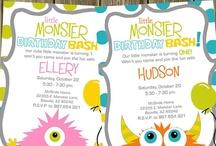 Monster 1st Birthday / by Hollie Reyes