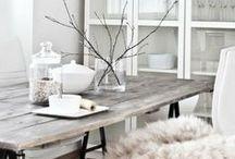 kitchen and dining room / by Nadine von Dreierlei Liebelei