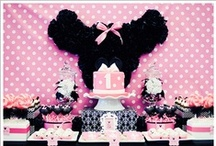 Party: Minnie Mouse / Everything for a Minnie Mouse Theme Party / by Sue