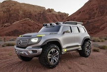 Mercedes-Benz Ener-G-Force Concept SUV / The Ener-G-Force is a preview of where the G-Class—and the auto industry—could go next. / by Mercedes-Benz USA