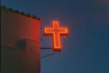 a cross / by christina