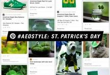 #AEOStyle: St. Patrick's Day  / Get lucky with #AEOStyle this St. Patrick's Day / by American Eagle Outfitters