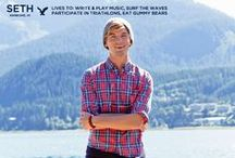 Meet Seth: AEO  Holiday 2013 / Meet Seth, a surfer and musician from Kaneohe, HI featured in American Eagles' Holiday 2013 campaign. / by American Eagle Outfitters