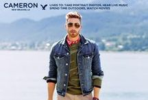 Meet Cameron: AEO Holiday 2013 / Meet Cameron, a photographer from New Orleans, LA featured in American Eagles' Holiday 2013 campaign. / by American Eagle Outfitters