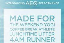 Introducing AEO Performance / Made for everyone who makes their workout fit how they live their life. / by American Eagle Outfitters