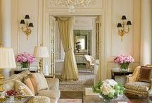 Rooms Gone Glamorous / Because every gal needs a little glam in her life, even if it's just pix on Pinterest! :)  / by Kathryn Bechen Ink