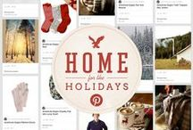Home for the Holidays  / There's no place like home for the holidays! Snuggle up to some of our favorite pieces of the season, from Festive Fair Isle sweaters to warm & cozy accessories. Don't forget the hot cocoa! / by American Eagle Outfitters