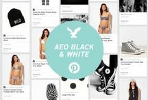 AEO Black and White /   / by American Eagle Outfitters