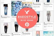 #AEOStyle: Denim  / FREE AEO JEANS!?! (Yes, you read that right.) Click here to find out more... your #AEOStyle depends on it: http://on.ae.com/MI46dV / by American Eagle Outfitters