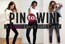 Pin to Win Your Fall Fashion Faves Contest with Levi's® and Women's Health! / Find out how you can win a $500 Levi's gift card here: WomensHealthMag.com/FallFashionFaves  #PinToWinYourFallFashionFavesContest / by Women's Health Magazine