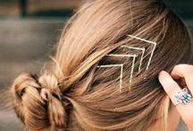 Hair  / color + style ideas / by natalia pudzisz
