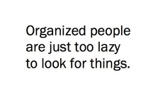 Let's Get Organized!  / by Jessica Fleming