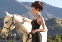 Equestrian  / Deborah Lindquist Eco Couture Gowns with Horses / by Deborah Lindquist