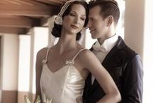 Gatsby Love Story and Wedding / Deborah Lindquist Eco Couture Gatsby Inspired fashion and  wedding gowns. With pins of things we love. / by Deborah Lindquist