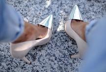 Shimmer In Metallics / by SHOEAHOLICS.COM