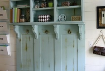 There's no place like home   laundry/mudroom / by Amy Powell