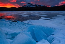 ~ Intriguing Ice ~ / Our Frozen World / by Deby Matta DeBruycker