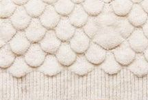 Knit & Purl - Texture / Inspiration for cables, ribs & bobbles etc. / by Poppy Gall