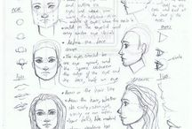 Drawings and Doodles (Tutorials and References) / by Rachel Witort