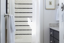 Tile Details / ideas for how to design tile patterns.  Bathroom renovation ideas, shower tile ideas, and interior design for bathrooms. / by Brooke Berry