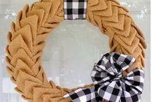 Wreath Inspiration / by Trish & Bonnie { Uncommon Designs }