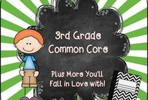 3rd Grade Common Core / Welcome to the 3rd Grade Common Core Pinterest page! We hope you find valuable resources to help support the new Common Core Curriculum standards. **Note to Collaborative Pinners* Please make sure to not pin the same product multiple times on multiple boards in the same day. It crowds the Pinterest feed of followers. To keep our followers please try to pin a mixture of free products, blog posts, and paid products. Remember this is a collaborative board. :) Thanks so much.... ~Pam  / by Pam Rountree