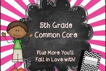 5th Grade Common Core / Welcome to the 5th Grade Common Core Pinterest page! We hope you find valuable resources to  help support the new Common Core Curriculum standards. **Note to Collaborative Pinners* Please make sure to not pin the same product multiple times on multiple boards in the same day. It crowds the Pinterest feed of followers. To keep our followers please try to pin a mixture of free products, blog posts, and paid products. Remember this is a collaborative board. :) Thanks so much.... ~Pam   / by Pam Rountree