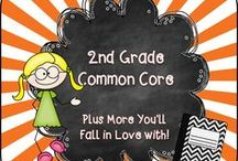 2nd Grade Common Core / Welcome to the 2nd Grade Common Core Pinterest page! We hope you find valuable resources to help support the new Common Core Curriculum standards. **Note to Collaborative Pinners* Please make sure to not pin the same product multiple times on multiple boards in the same day. It crowds the Pinterest feed of followers. To keep our followers please try to pin a mixture of free products, blog posts, and paid products. Remember this is a collaborative board. :) Thanks so much.... ~Pam  / by Pam Rountree