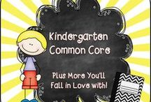 Kindergarten Common Core / Welcome to the Kindergarten Common Core Pinterest page! We hope you find valuable resources to help support the new Common Core Curriculum standards. **Note to Collaborative Pinners* Please make sure to not pin the same product multiple times on multiple boards in the same day. It crowds the Pinterest feed of followers. To keep our followers please try to pin a mixture of free products, blog posts, and paid products. Remember this is a collaborative board. :) Thanks so much.... ~Pam   / by Pam Rountree