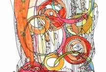 Drawing/Doddles/Scribbles/Zentangles / by Carolyn Rosier