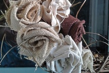 Burlap, Jute and Linen / Burlap is special! / by Cindy B.