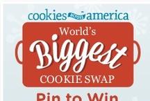 """World's Biggest Cookie Swap."" / by Kimberley Henbury-Newton"