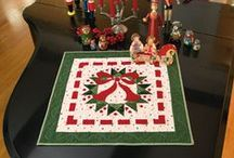 Holiday Quilting Projects / Christmas and Fall Quilting / by Cindy B.