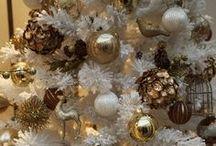 Christmas Trees White / White Christmas trees / by Cindy B.