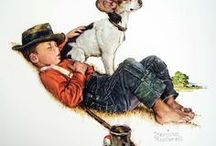 Norman Rockwell / by Mary Ellis