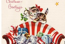 xmas: pretty paper / cards, photos, wrapping, etc / by fisty christmas-kitten
