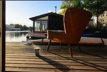Living along the waterfront (it's a lifestyle) / All about the lifestyle of houseboats, harbours and waterfront living.  / by waterloft.nl