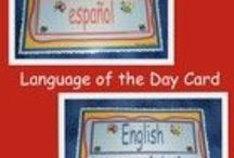 Dual Language / This is a collection of activities that can be used in a dual language program. If  you would like to be added to this board email us at doodlesandkreations@gmail.com / by Doodles and Kreations love Pepe Pato
