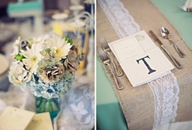 Burlap + Mint Beach Wedding / by Tiffany Bennett